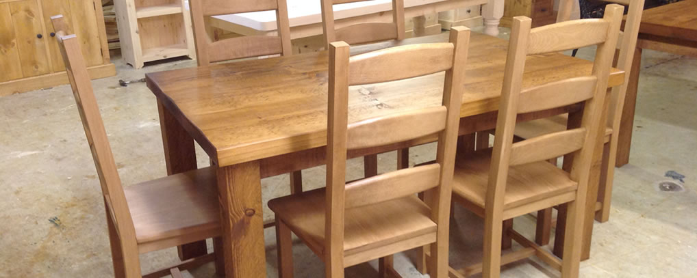 rustic pine handmade furniture